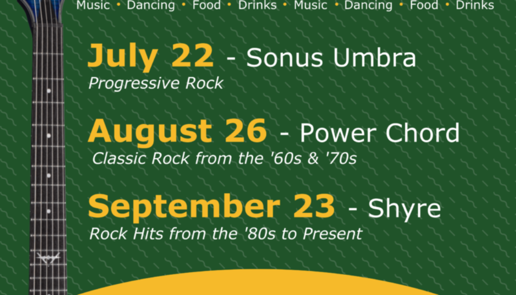 Summer in the Shire Event Flyer